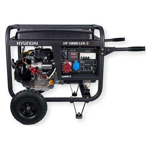 Hyundai generator 9,4kW 459cc motor